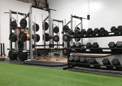 Half Racks & Olympic Lifting platforms